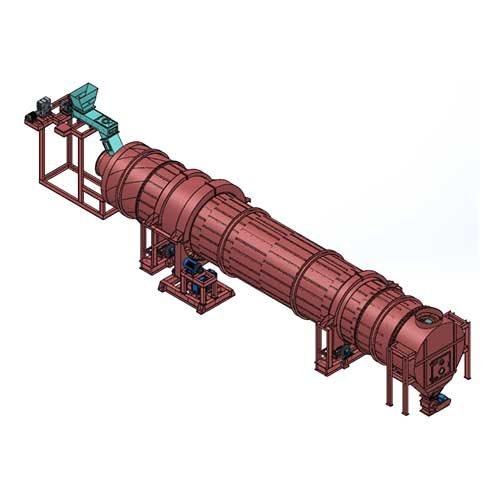Rotary Cascade Dryers